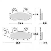 SBS 앞브레이크 패드 611HF : NSR150,KDX250M,RM125,RM250