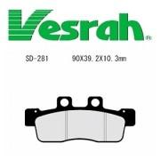 [Vesrah]베스라 SD281 - YAMAHA CYGNUS X (07-10) 기타 그 외 기종 -오토바이 브레이크 패드