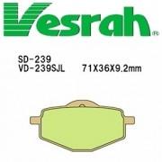 [Vesrah]베스라 VD239JL/SJL- YAMAHA TDR50,TZR50,YSR80,XT225 기타 그 외 기종 -오토바이 브레이크 패드