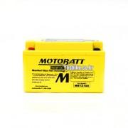 MOTOBATT 밀폐형 무보수 배터리 MBTX7U CBR400RR,HORNET 600 98~,카빙,메데스,VANVAN125/200 (YTX7L-BS) (밧데리)