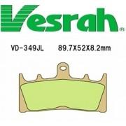 [Vesrah]베스라 VD349JL/SJL - SUZUKI GSX-R750,TL1000R,R11000W,GSF1200 기타 그 외 기종 -오토바이 브레이크 패드