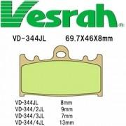 [Vesrah]베스라 VD344JL/SJL - SUZUKI RGV250,BANDIT400,GSX-R400,SV1000,TL1000S 기타 그 외 기종 -오토바이 브레이크 패드