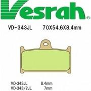 [Vesrah]베스라 VD343JL/SJL - SUZUKI GSX-R400R,RF900R,GSX-R1100,YAMAHA FZR750R 기타 그 외 기종 -오토바이 브레이크 패드