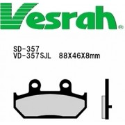 [Vesrah]베스라 SD357 기타 그 외 기종 -오토바이 브레이크 패드,혼다,야마하,스즈끼,가와사끼,할리,BMW