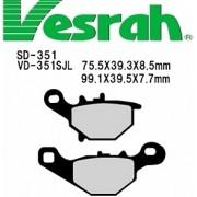[Vesrah]베스라 SD351- SUZUKI ZZ,STREET MAGIC,ADDRESS V100/110,ADDRESS V125 기타 그 외 기종 -오토바이 브레이크 패드