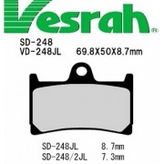 [Vesrah]베스라 SD248 - YAMAHA FZ6,XJR400,FZ1,R1,FJR130,XJR1300 기타 그 외 기종 -오토바이 브레이크 패드