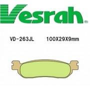 [Vesrah]베스라 VD263JL/SJL - YAMAHA RZ50, TW200/225, XT225, TRICKER, R6 기타 그 외 기종 -오토바이 브레이크 패드