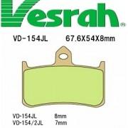 [Vesrah]베스라 VD154JL/SJL - HONDA HORNET250,NSR250R,RVF400R,RVF750R,CB1000 기타 그 외 기종 -오토바이 브레이크 패드