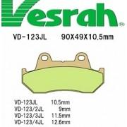 [Vesrah]베스라 VD123JL/SJL -오토바이 브레이크 패드,혼다,야마하,스즈끼,가와사끼,할리,BMW