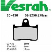 [Vesrah]베스라 SD436 - HONDA STEED400,X-4,CB1300SF,SUZUKI GSF650,KAWASAKI GTR1400,ZZR1400 기타 그 외 기종 - 오토바이 브레이크 패드