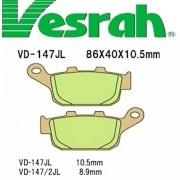 [Vesrah]베스라 VD147JL/SJL - HONDA CBR250,NSR250R,CB400,CBR400R,VFR400,VRX400 기타 그 외 기종 -오토바이 브레이크 패드