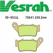 [Vesrah]베스라 VD953JL/SJL - YAMAHA MT-03,XT660R,PEGASO, BMW G650,F800,DUCATI GT1000, KTM, HUSQVARNA 기타 그 외 기종 -오토바이 브레이크 패드