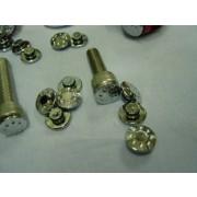 XRT M8m 육각 렌치 볼트 캡  머신형  크롬(4EA)(1SET)