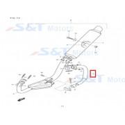 코멧250(GT250) 머플러파이프(상,소형)인젝션 델파이 14160HA8610PAM