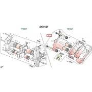 SV125B.SV125D.SV250 캘리퍼ASS'Y(뒤,순정,HB패드용)