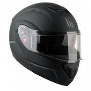 MT헬멧 ATOM(아톰) RACELINE EVO 시스템 헬멧 맷블랙 - 핀락 무상 증정/선바이저 내장형