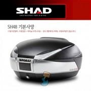 SHAD 샤드 탑케이스 SH48 기본사양 무광 검정 D0B48200