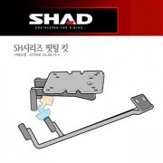 SHAD 샤드 탑케이스 핏팅 킷 JOYRIDE125i/200i '11~'17 S0JR11ST