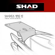SHAD 샤드 탑케이스 핏팅 킷 CRUISYM 125i/300i '18~ S0CR38ST
