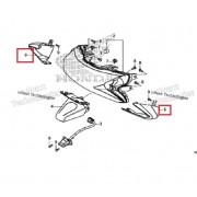 PCX(19년~) 윙카커버(뒤)RH 80121-K97-T00 ,LH 80131-K97-T00