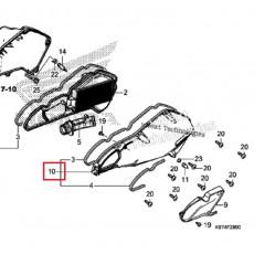 PCX(18~19)  에어클리너 커버 17235-K97-J00