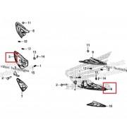 PCX(19년~) 발판 암(뒤) RH 50730-K97-T00,LH 50740-K97-T00