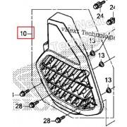 PCX(19년~) 라디에터커버 19150-K97-T00