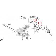 슈퍼커브110(~17년) 기어쉬프트포크(EA)