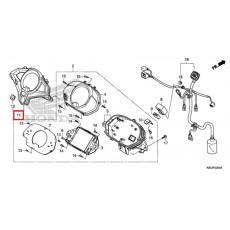 엘리트125(Elite125) 핸들커버 53250-K80-C00ZA