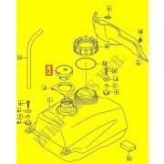 버그만125 BURGMAN125 퓨엘탱크캡 44200-13840-000
