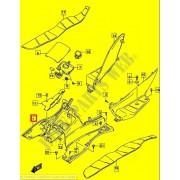 버그만125 BURGMAN125 플로워판넬(발판) 48121-12JB0-291