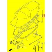 버그만125 BURGMAN125 시트 45100-12J40-A0R