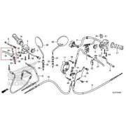 벤리110(BENLY110)(~15) 레버(RH) 53175-GGM-900