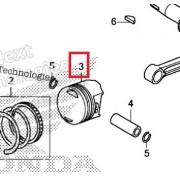 PCX125(18~19) 피스톤 13101-K77-V00